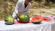Shooting Watermelons In Super Slow Motion