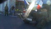 Naucelle: défilé de véhicules d'époque pour le 70è anniversaire de la libération de Carmaux