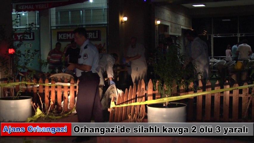 Orhangazi'de silahlı kavga 2 ölü