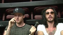 ASKING ALEXANDRIA COMPLETE INTERVIEW SAM AND CAMERON, MAYHEM FEST 2014
