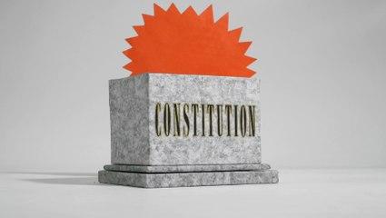 La constitution - Les Clés de la République