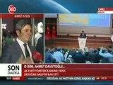 Adıyaman Milletvekili ve TBMM Ak Parti Grup Başkan Vekili Ahmet Aydın Yeni Başbakanın Ahmet Davutoğlu Olarak Açıklanmasını Değerlendirdi
