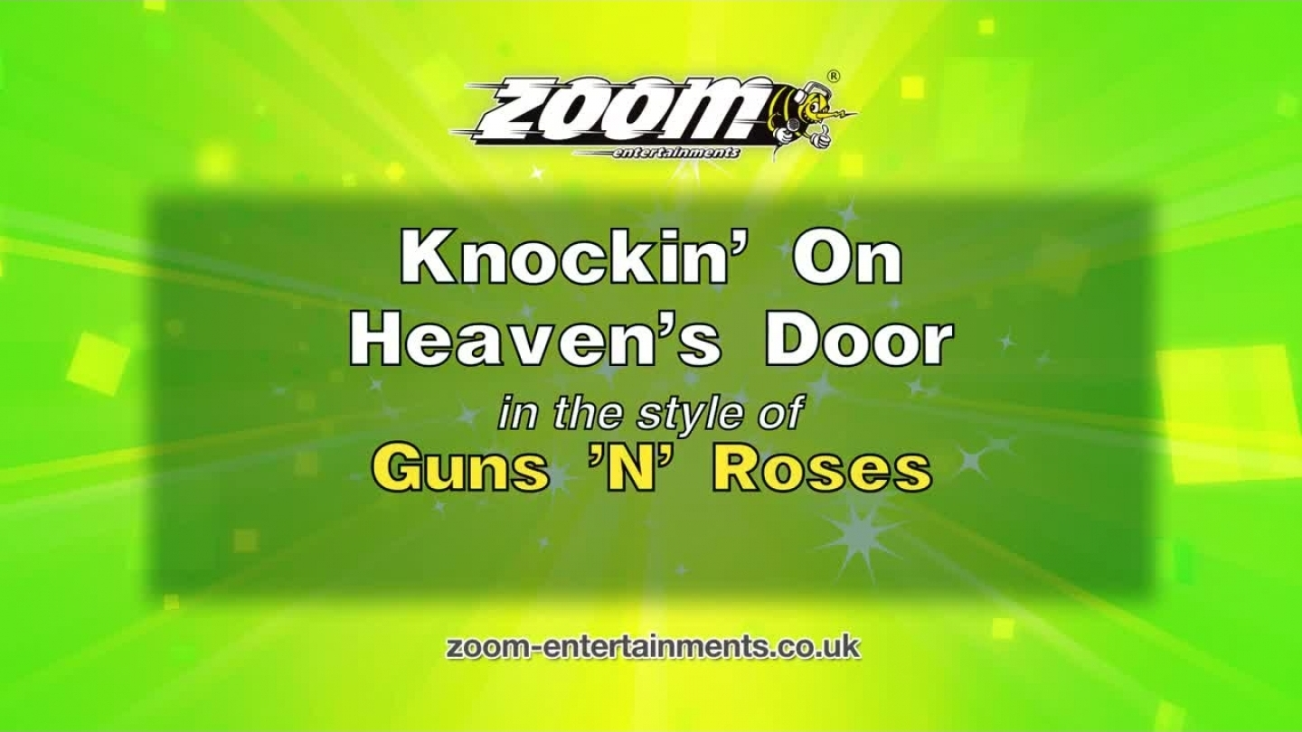 Zoom Karaoke – Knockin' On Heaven's Door – Guns 'N' Roses