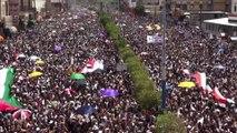 Manifestations de masse contre le gouvernement au Yémen