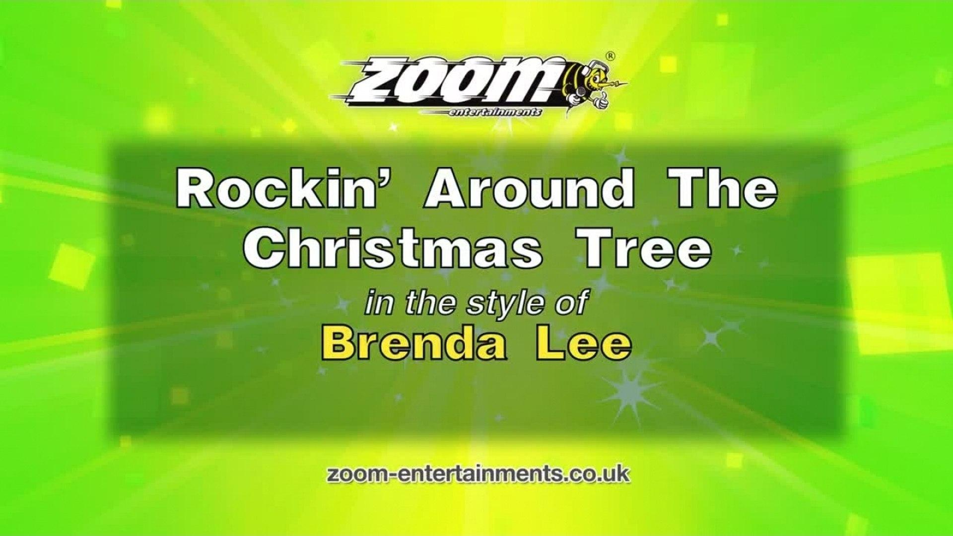 Rockin Around The Christmas Tree Brenda Lee.Zoom Karaoke Rockin Around The Christmas Tree Brenda Lee
