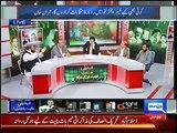 Intense Fight Between Analyst Anjum Rasheed and Maulana Tahir Ashrafi in a Live Show