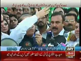 Mubashir Luqman Showing Mirror To Nawaz Sharif That What He Did OutSide Parliament