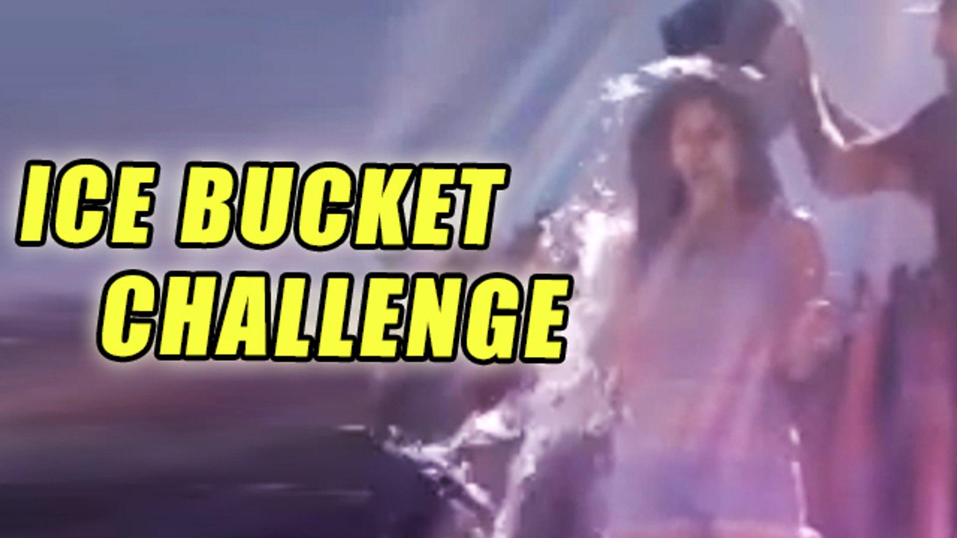 Sunny Leone's SEXY ICE BUCKET CHALLENGE