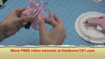 How to Make a Butterfly Hair Bow - How to Make Hair Bows - How to Make Bows - Making Hair Bows
