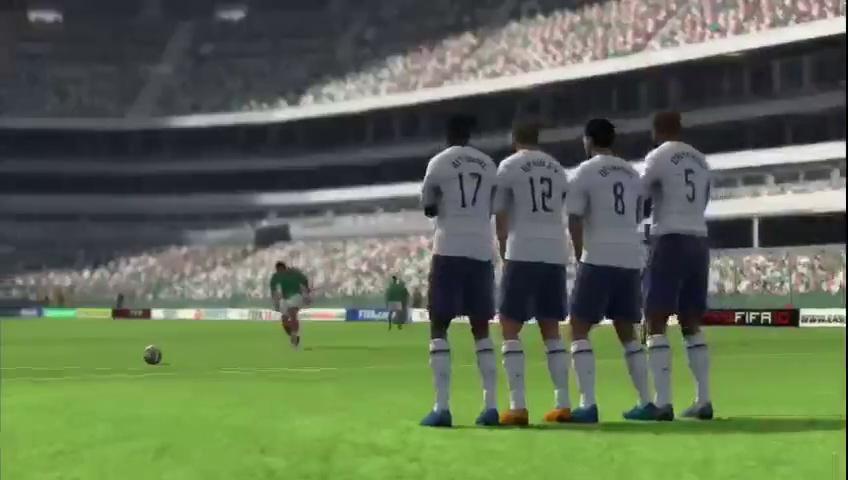 FIFA Soccer 10 – Cinematic Mexico Vs US