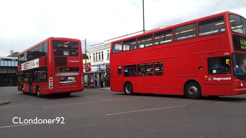 Bus observations at Romford, London 08-07-14
