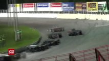 2014 Jim Shampine Memorial Part 2 - Oswego Speedway - MAVTV - SPEED SPORT - Racing - Super Modifieds