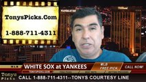 MLB Pick New York Yankees vs. Chicago White Sox Odds Prediction Preview 8-23-2014