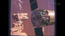 [ISS] Cygnus CRS-2 Departs from International Space Station