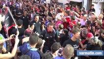 RCT - La Rochelle: l'arrivée des Toulonnais au stade Mayol