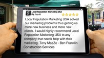 Local Reputation Marketing USA Fresno         Perfect         5 Star Review by Tony M.