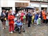 """Verviers, 10 ans du festival """"Danse en ville"""" ."""