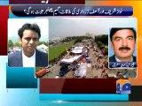 Shaikh Rasheed On Political Situation-Geo Reports-23 Aug 2014