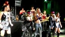 Salernes Var Les Tigresses Musicien/groupe Vendredi 22 Août 2014 Orchestre de variétés internationales féminin bal sur le cours Bouge de Salernes Didier Lions du comité des fêtes de Salernes