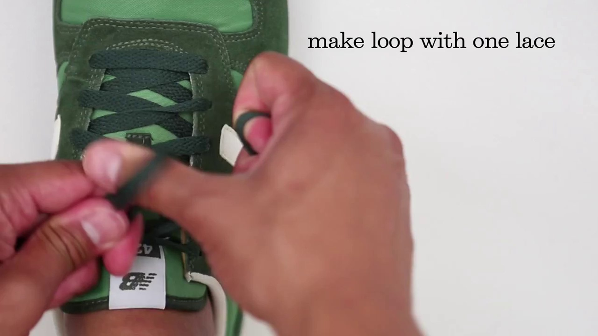 lululemon how to tie your shoes for running.