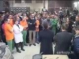 Visite de Nicolas Sarkozy: Saint-Quentin