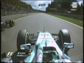 Rosberg a pris la floche