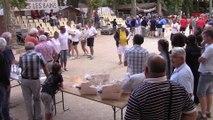 Les récompenses du Mondial Mixte de la quadrette, Sport Boules, Vals-les-Bains 2014