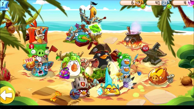 Angry Birds Movie Game - Angry Birds Epic Part 2   Funny Angry Birds Videos