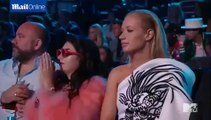 Nicki Minaj Wardrobe malfunction at MTV VMAs performance