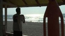 Mohamed Bar, il bagnino della spiaggia di Gaza