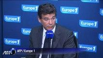 Montebourg confirme ses critiques de la politique économique