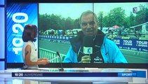 Tour de l'Avenir 2014 - Reportage de France 3 Auvergne 19/20 - samedi 23 août
