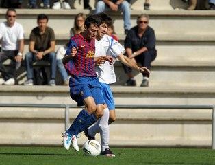 Los goles de Munir en la cantera del Barça