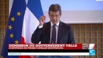 Remaniement en France _ revoir la conférence de presse d'Arnaud Montebourg sur FRANCE 24_(360p)