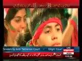 Sheikh Rasheed Ahmad Speech in PTI Azadi March at Islamabad - 25th August 2014