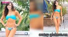 Hot and Sexy Karina Smirnoff Shows Off Super-Toned Abs in Skimpy Blue Bikini bikini paradiso FULL HD