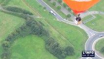 Vol en montgolfière avec Luc Monnin (Sablé-sur-Sarthe)