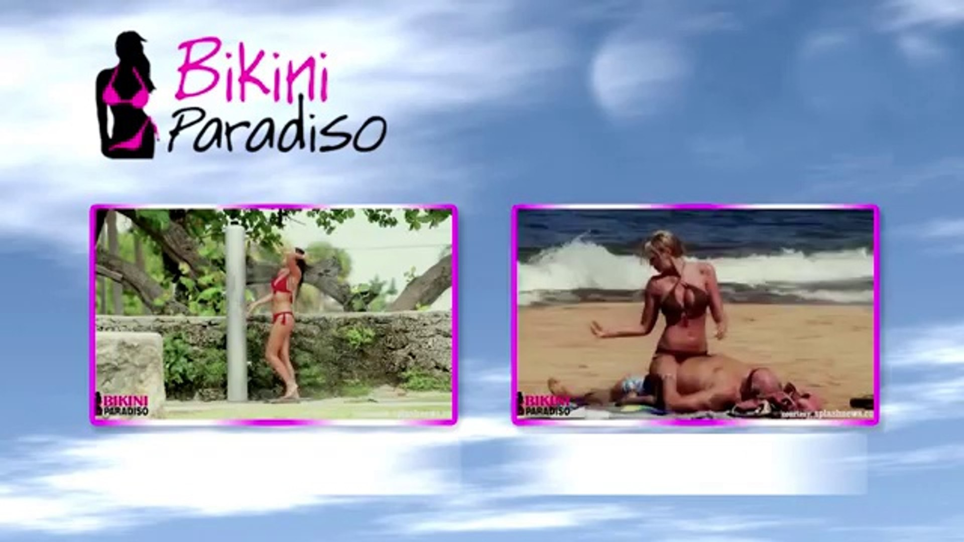 Hot & Sexy Claudia Romani Taking A Shower In Bikini bikini paradiso1 FULL HD