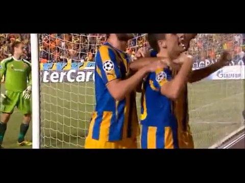 26.08.2014 - ΑΠΟΕΛ Vs Aalborg 4-0