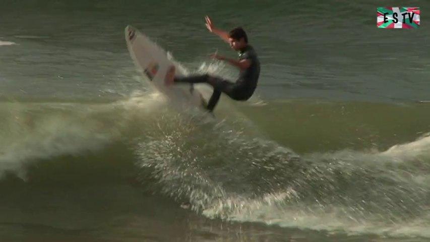 Hendaye: Petite houle grande foule - Euskadi Surf TV