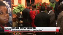 Michael Brown laid to rest, remembered as gentle giant
