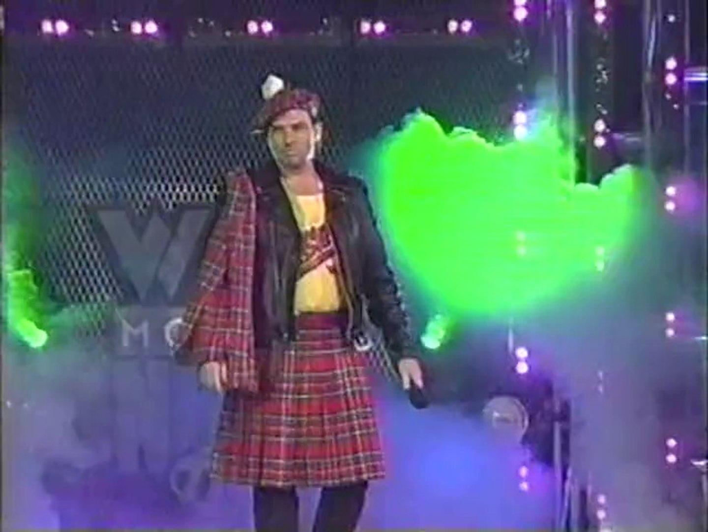 Roddy Piper/Hollywood Hogan/NWO Brawl (WCW Monday Nitro 12.23.1996)