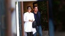 Kris Jenner genießt ihre Essen mit Superman Star Dean Cain