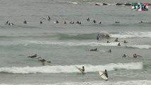 Biarritz: Surfing  Cote des Basques - Euskadi Surf TV