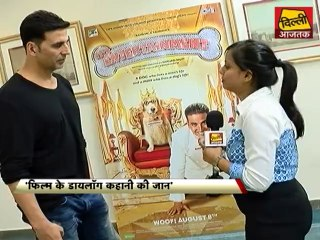 Akshay's Interview for Movie