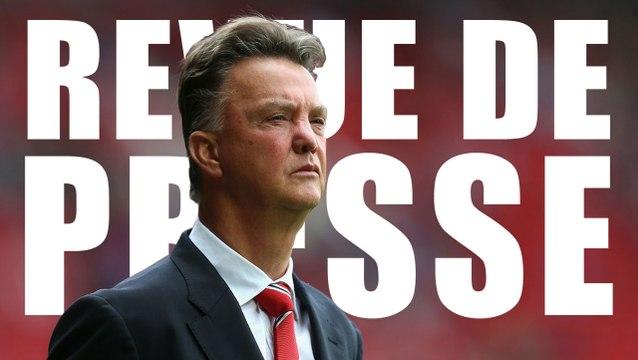 La presse anglaise dézingue Louis Van Gaal et Manchester United !