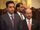 Sindh Govt signing MOU with China,Former President Asif Zardari and Chairman PPP Bilawal Bhutto Zardari were also present on the occassion.