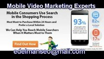 Market Research  Mobile Video Marketing 2014 , Mobile Video Marketing Trends , Mobile Video Marketing Methods , Mobile Video Marketing Consultants will place your website on the first page of Google , How to dominate mobile search re