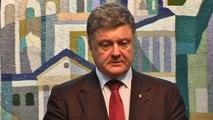 Ukrainian President vows 'roadmap' for peace