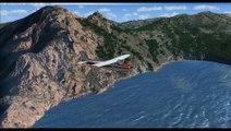 Vol VFR de Calvi au Golfe de Porto (Corse)